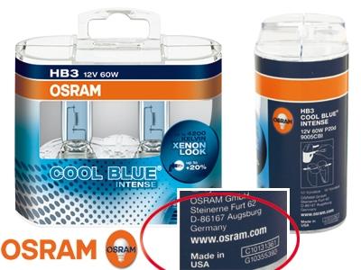 osram cool blue intense hb3 xenon look polttimo xenon look polttimot completos. Black Bedroom Furniture Sets. Home Design Ideas