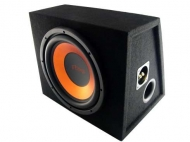 "Focus 12"" Chrome Series 500W Subwoofer kotelolla"